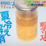 サタデープラス 夏こそ酢ショウガ 冷え性改善 おすすめレシピ