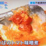 あさチャン『トマト味噌』『濃いだし氷』簡単 美味しいレシピ 減塩調味料
